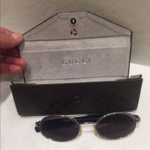 vintage Gucci Sunglasses & case